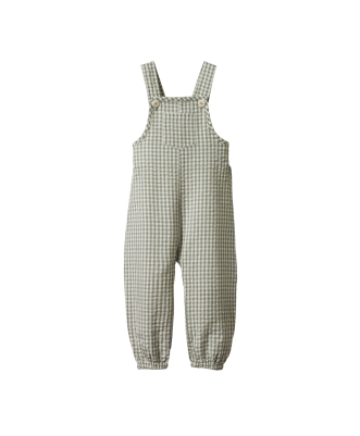 Tipper Overalls Gingham